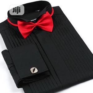 Tuxedo Printing Men's Long Sleeve Shirt. | Clothing for sale in Lagos State, Apapa