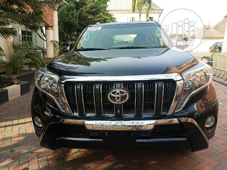 Toyota Land Cruiser Prado 2015 VX Black   Cars for sale in Apo District, Abuja (FCT) State, Nigeria