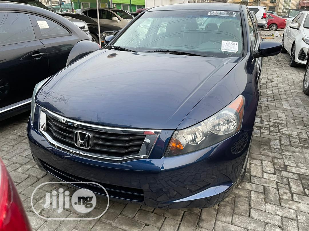 Honda Accord 2010 Blue