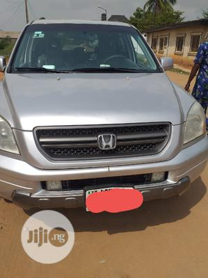 Honda Pilot 2005 EX-L 4x4 (3.5L 6cyl 5A) Silver | Cars for sale in Lagos State, Epe