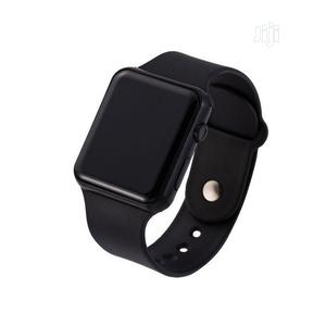 Silicone LED Digital Sports Electronic Wristwatch - Unisex   Watches for sale in Lagos State, Oshodi