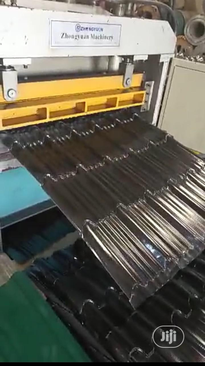 Archive: New Aluminum Steptile Roofing Sheets