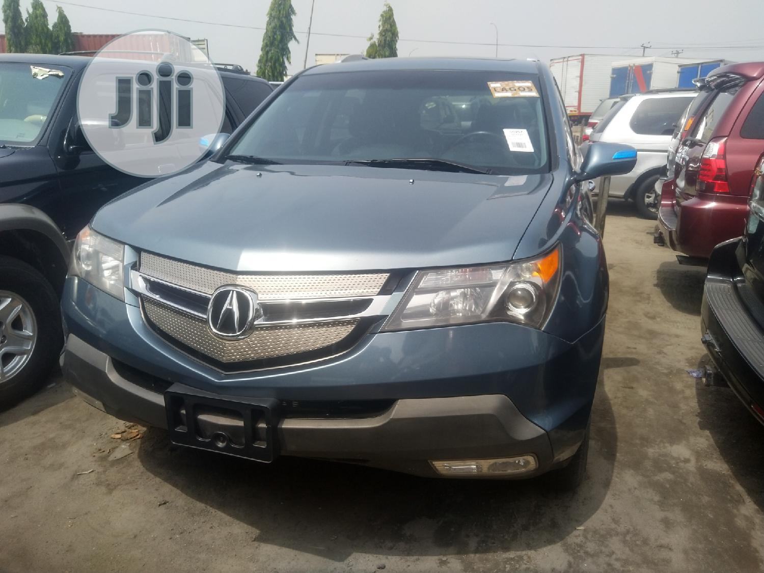Acura Mdx 2009 Suv 4dr Awd 3 7 6cyl 5a Gray In Apapa Cars J And D Motors Jiji Ng