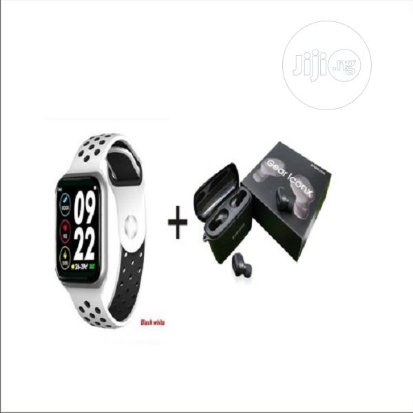 Archive: F8 Smart Watch/Health Monitor For Android&Ios+Samsung Earbud