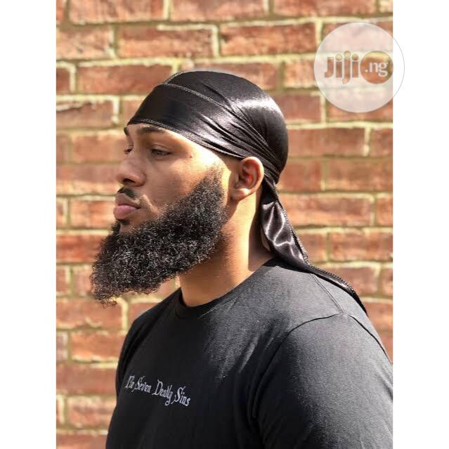 Black Silky Durag | Be Attractive