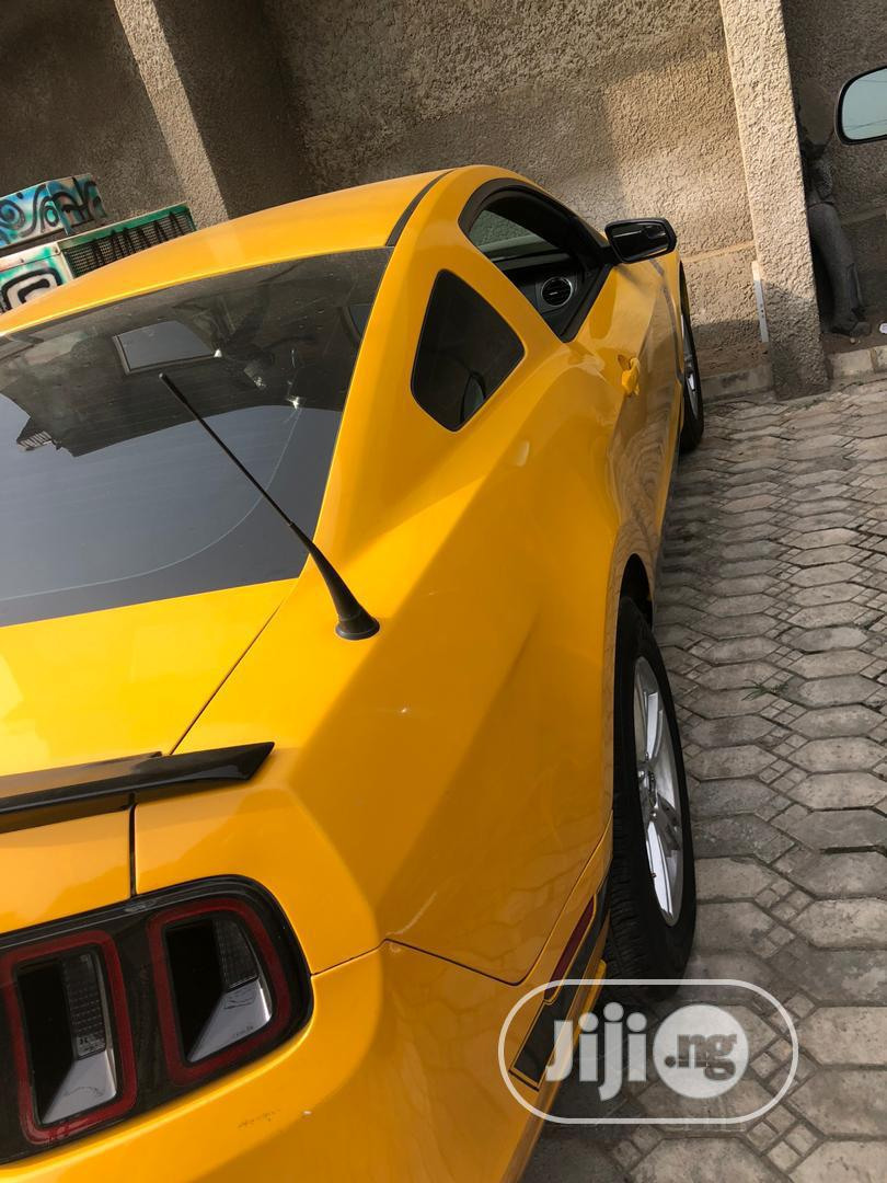 Ford Mustang 2013 Yellow | Cars for sale in Ibadan, Oyo State, Nigeria