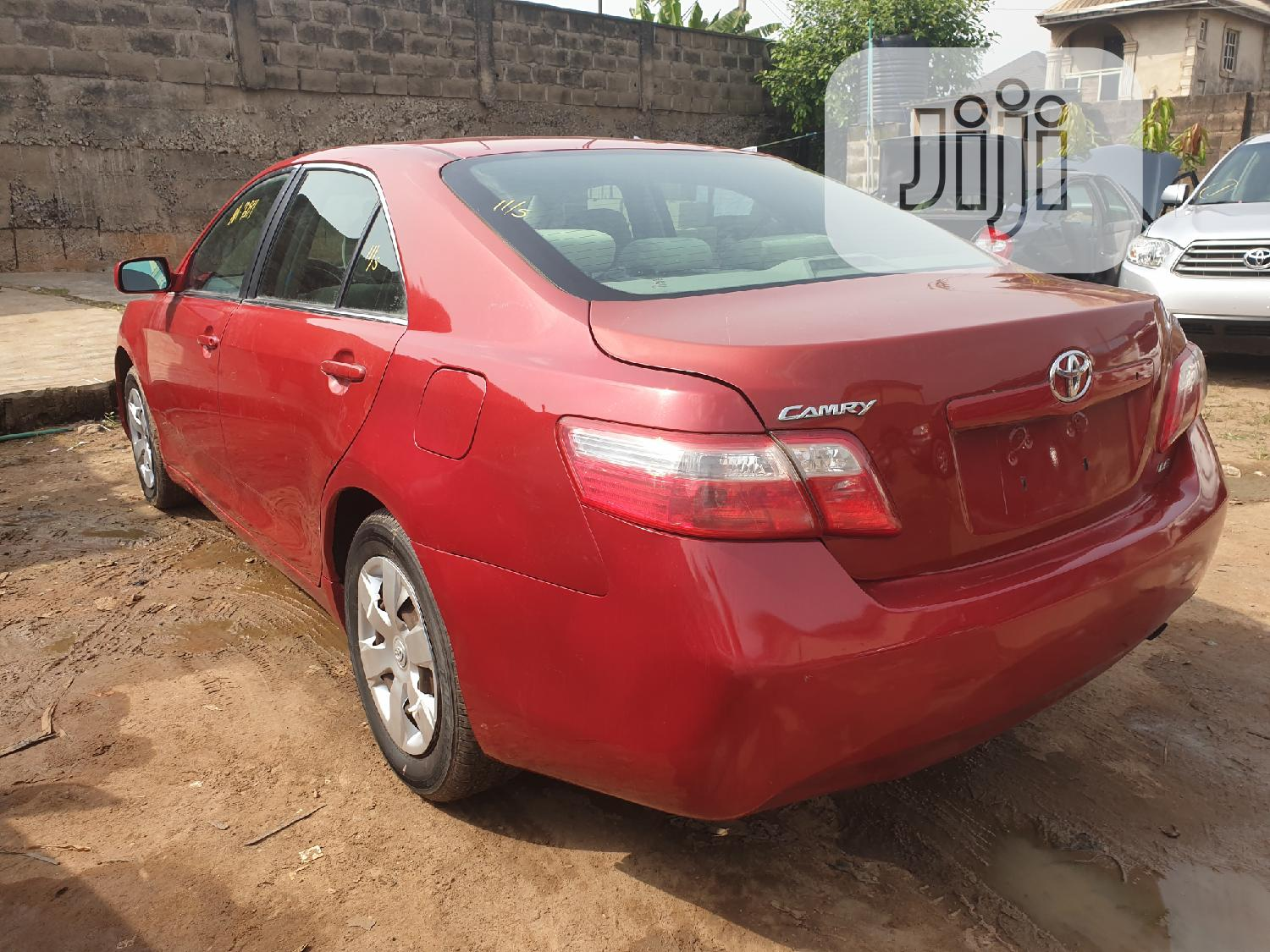 Toyota Camry 2007 Red   Cars for sale in Egbe Idimu, Lagos State, Nigeria