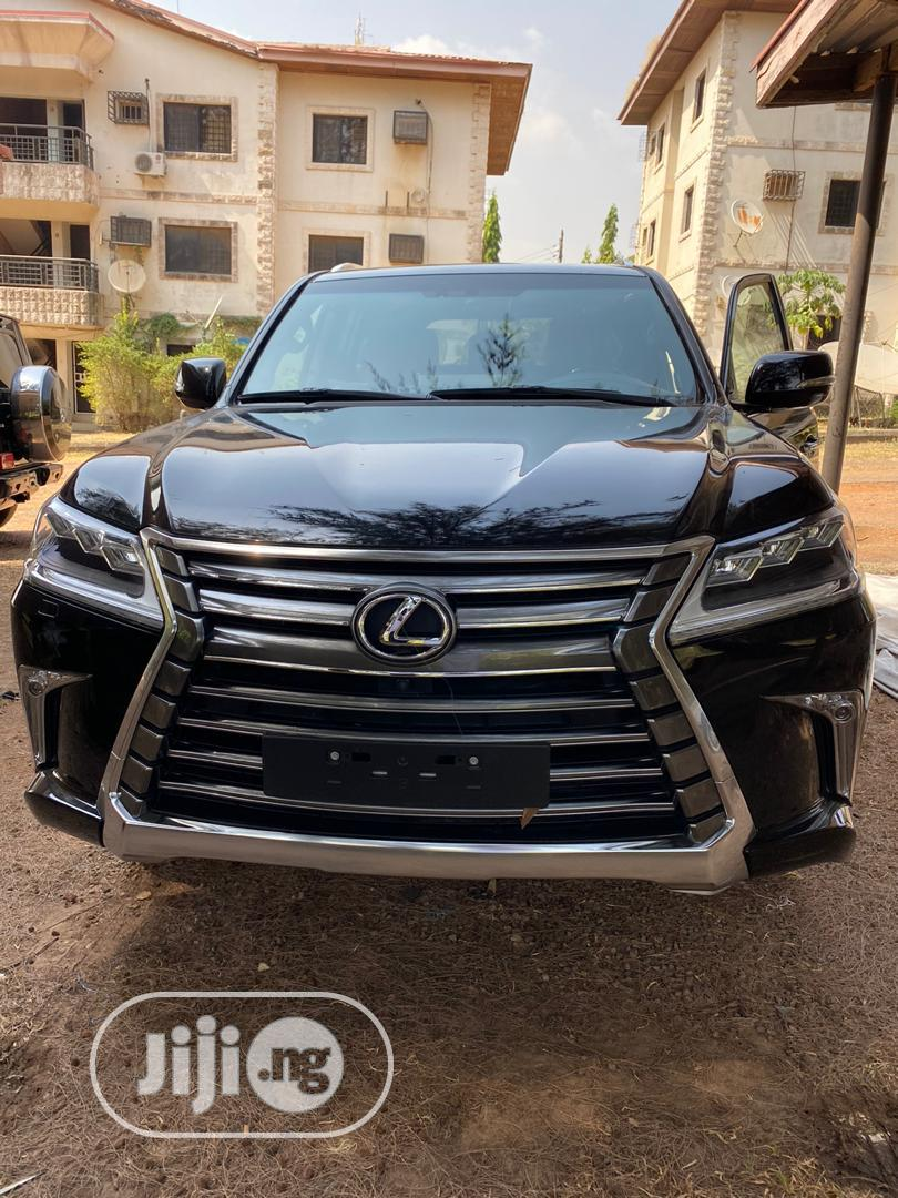 Lexus LX 2020 570 Three-Row Black