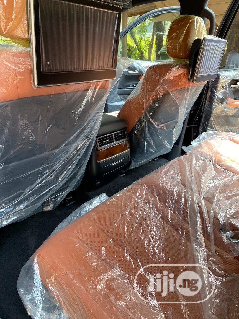 Lexus LX 2020 570 Three-Row Black | Cars for sale in Maitama, Abuja (FCT) State, Nigeria