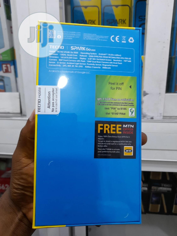 New Tecno Spark Go 2020 32 GB White   Mobile Phones for sale in Ikeja, Lagos State, Nigeria