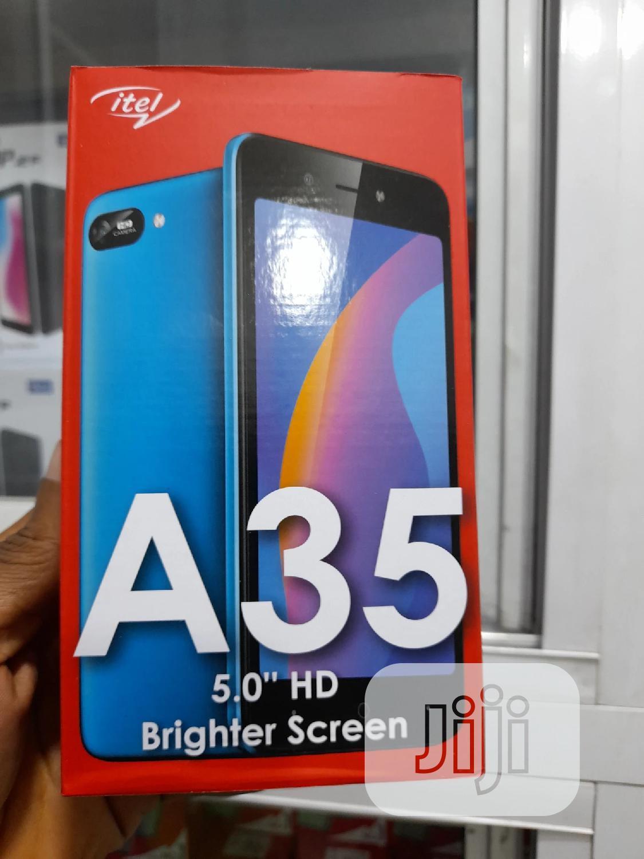 New Itel A35 16 GB Red