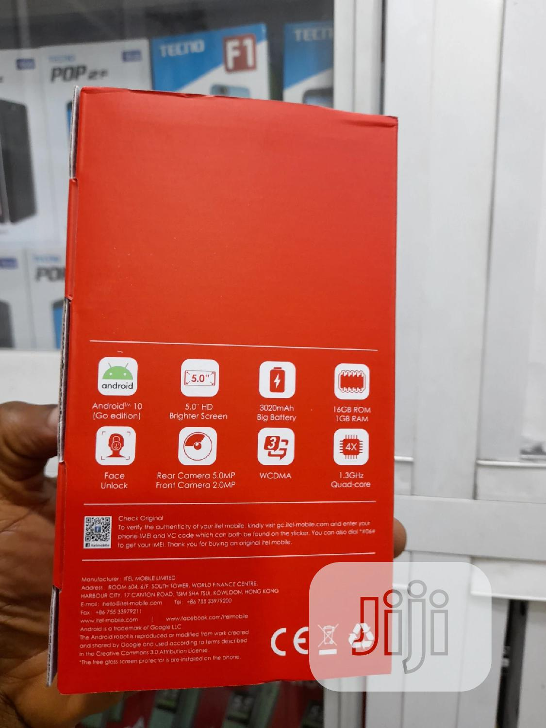 New Itel A35 16 GB Yellow | Mobile Phones for sale in Ikeja, Lagos State, Nigeria
