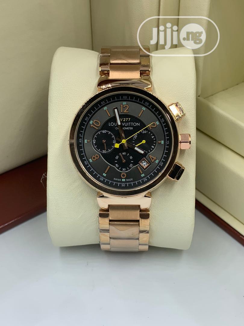 LV Luxury Wristwatch