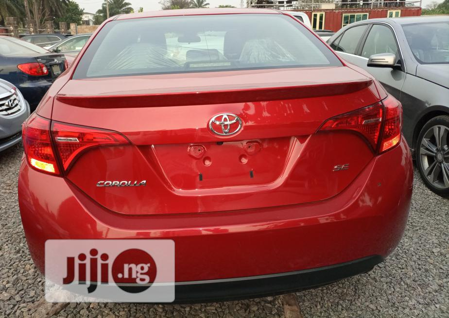 Archive: Toyota Corolla 2017 Red