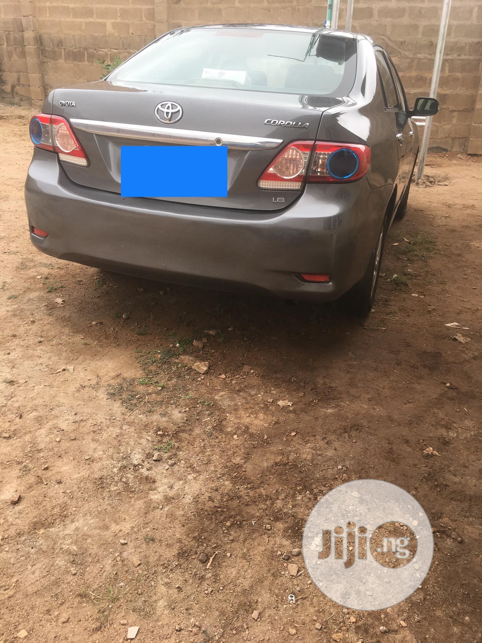 Toyota Corolla 2011 Gray   Cars for sale in Ibadan, Oyo State, Nigeria
