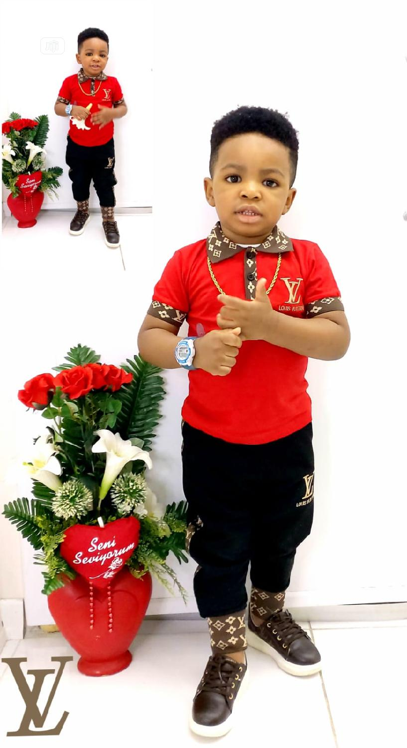 Louis Vuitton Clothing Sets For Boys | Children's Clothing for sale in Ojo, Lagos State, Nigeria