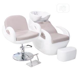Set of Shampoo Wash Basin and Chair | Salon Equipment for sale in Lagos State, Lagos Island (Eko)