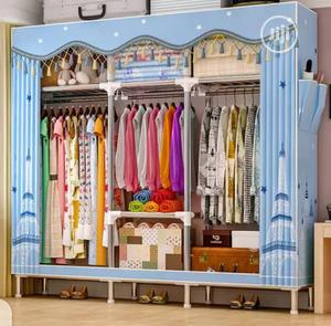 25mm Pole Super Strong Mobile Steel Wardrobe   Furniture for sale in Lagos State, Oshodi
