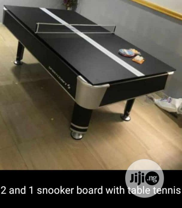 2and1 Snooker Board and Table Tennis