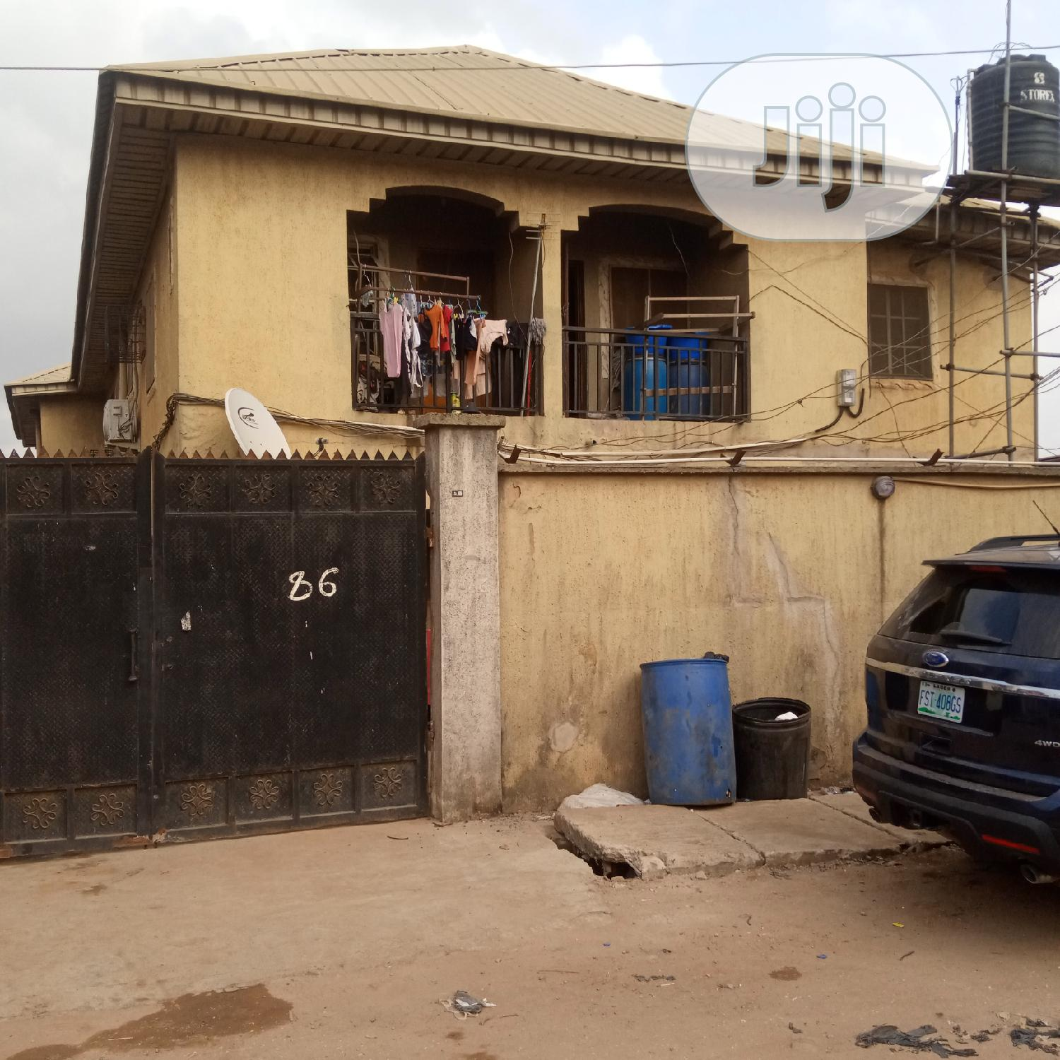 Block 6 Flat of 3-Bedrooms | Houses & Apartments For Sale for sale in Mafoluku, Oshodi, Nigeria