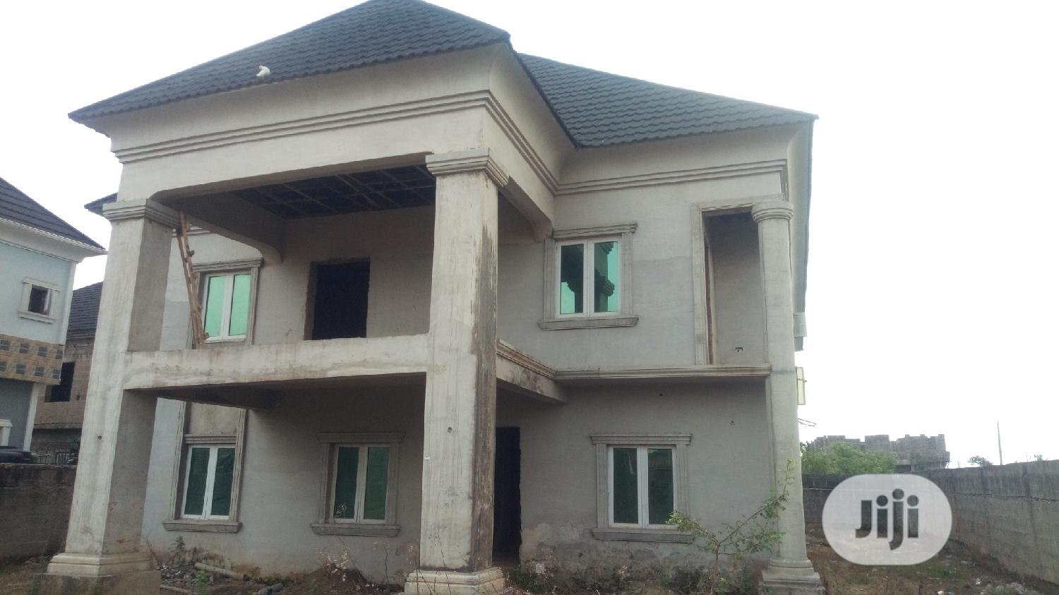 4 Bedroom Detached Duplex With(2 )2 Bedrom Flats