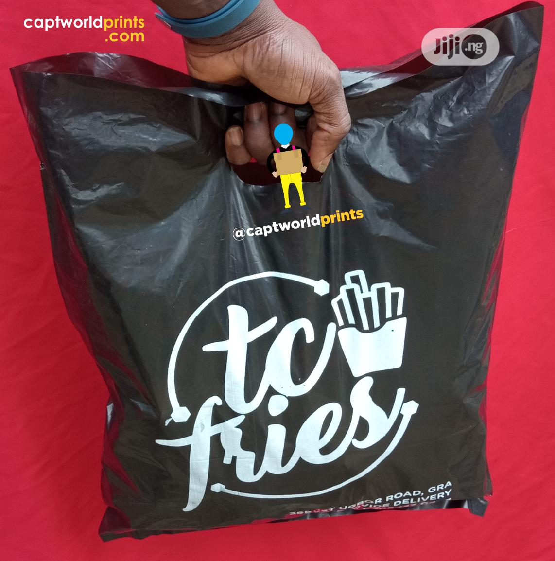 Small Size Nylon Bags   Printing Services for sale in Shomolu, Lagos State, Nigeria