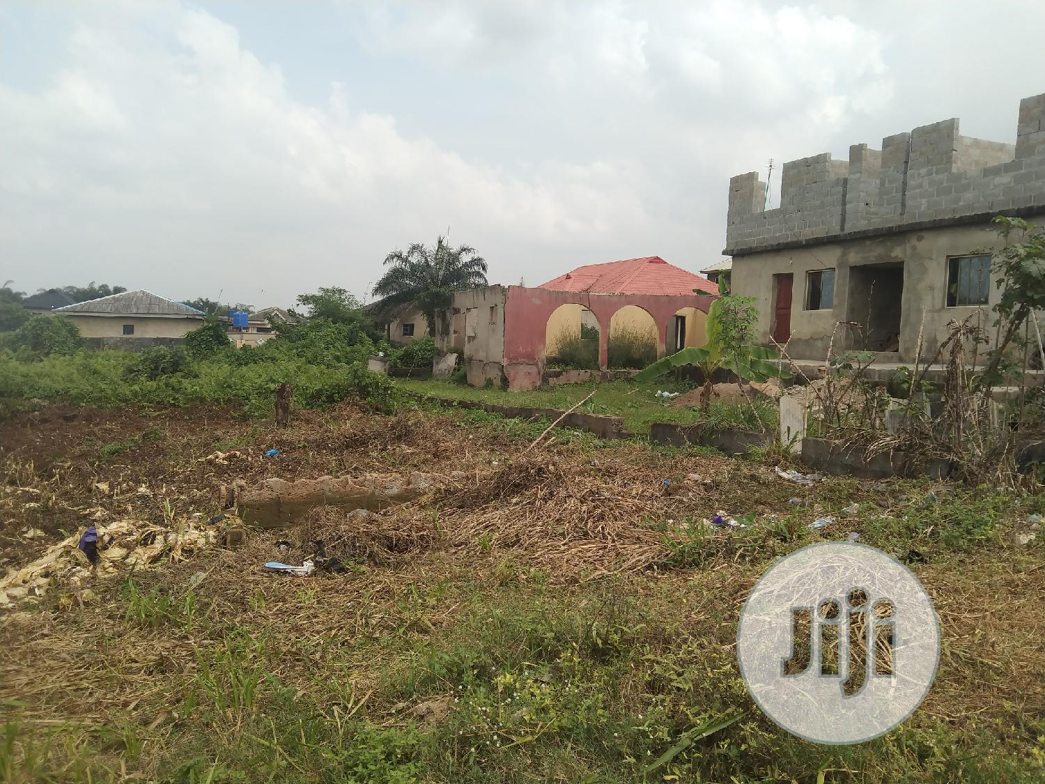 Almost Full Plot of Land in a Decent Area at Ikola Command