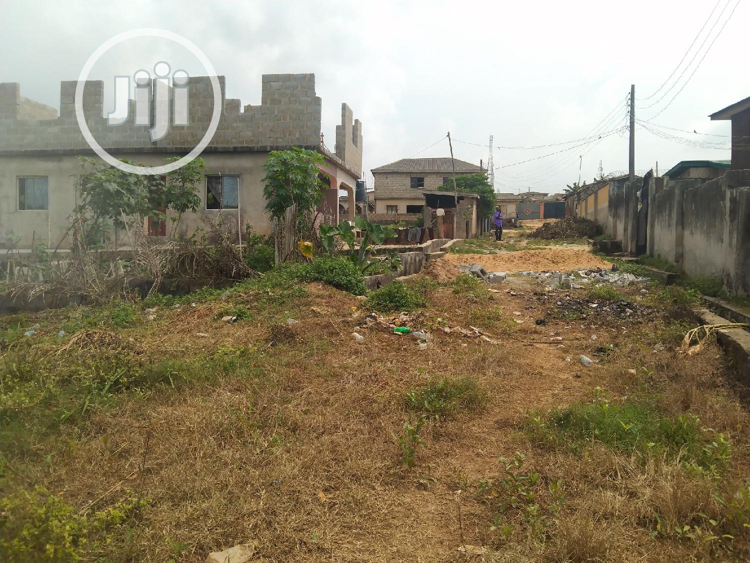 Almost Full Plot of Land in a Decent Area at Ikola Command   Land & Plots For Sale for sale in Ipaja / Ipaja, Ipaja, Nigeria