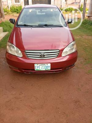 Toyota Corolla 2004 LE Red | Cars for sale in Edo State, Benin City