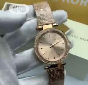High Quality Michael Kors Gold Dial Stainless Steel Watch | Watches for sale in Lagos State, Magodo