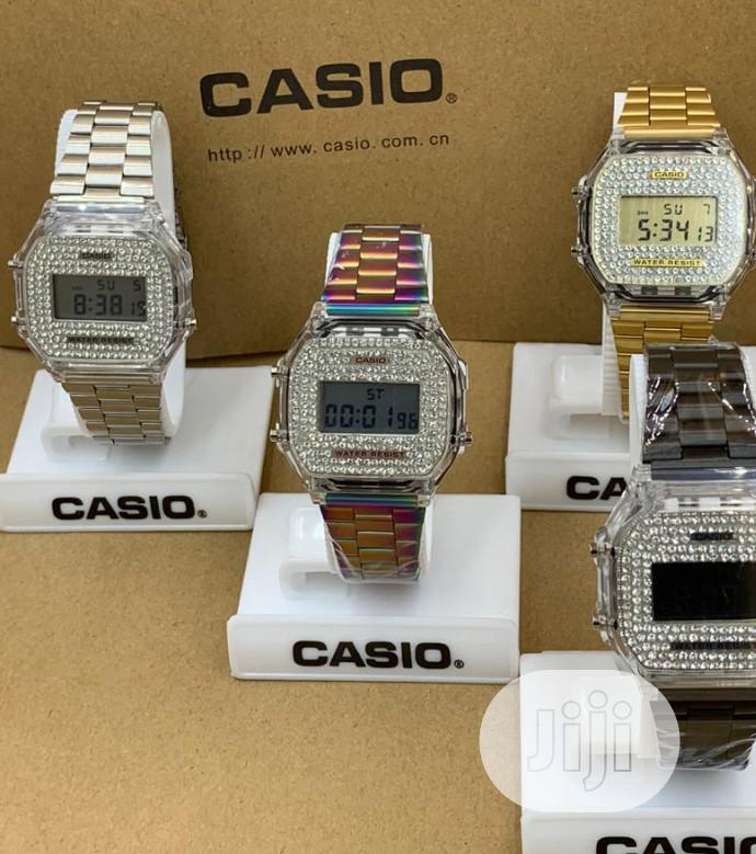 Quality Bling Casio Watch For Sale
