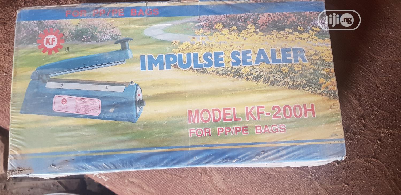 Archive: Impulse Sealer