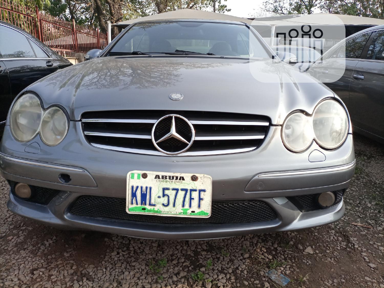 Mercedes-Benz CLK 2005 Gray