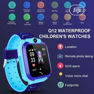 Kid's Anti Lost IP67 Smart Watch Phone With Sim Slot   Children's Gear & Safety for sale in Rivers State, Port-Harcourt