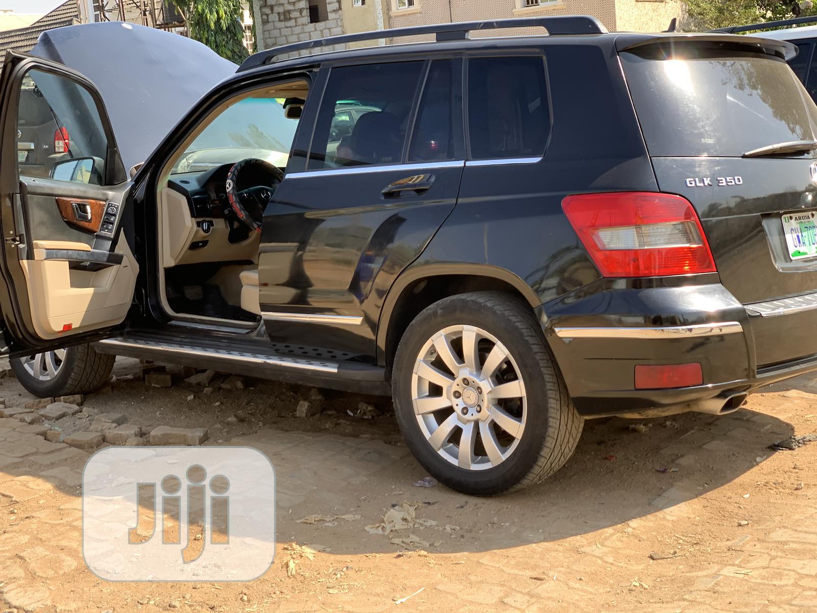 Mercedes-Benz GLK-Class 2010 350 Black | Cars for sale in Gwarinpa, Abuja (FCT) State, Nigeria