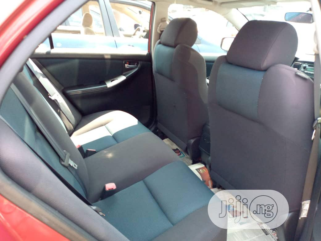 Archive: Toyota Corolla 2007 S Red