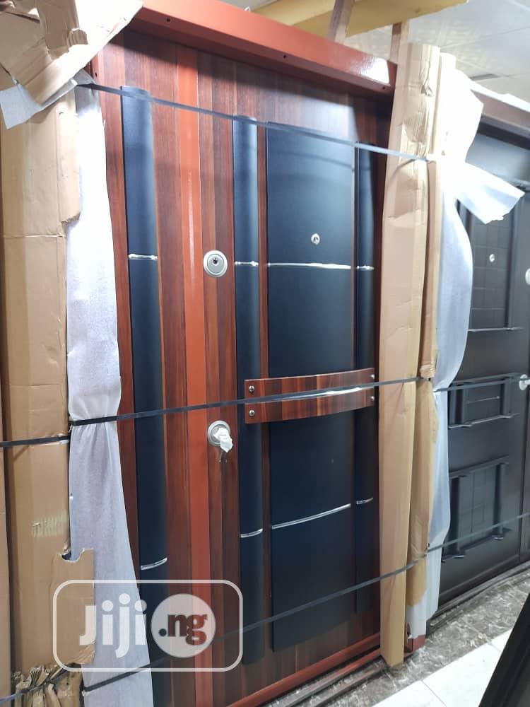 Turkey Luxury Armoured Door - 4ft Turkish Security Door