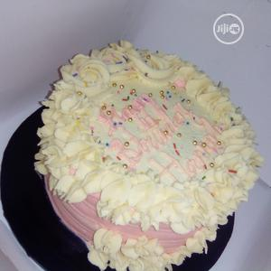 Pinkish Chocolate Birthday Cake   Meals & Drinks for sale in Lagos State, Alimosho