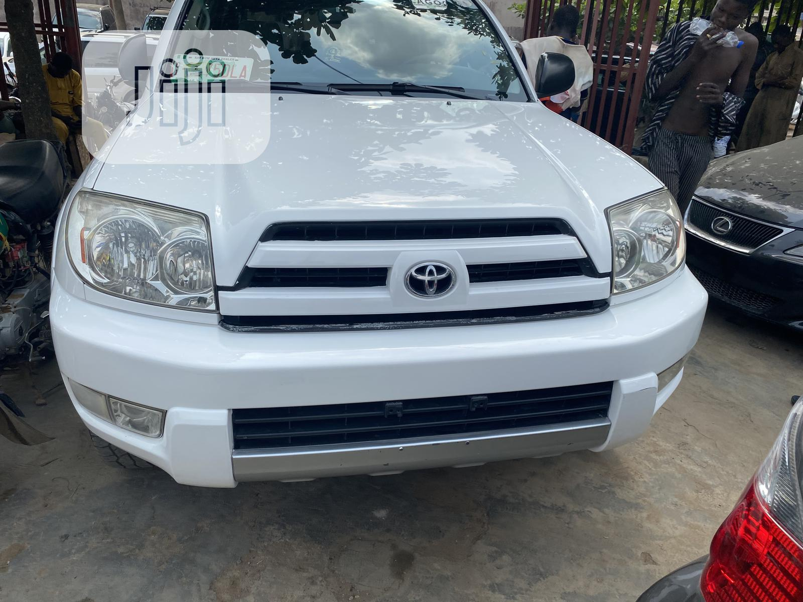 Toyota 4 Runner 2005 Sport Edition V6 4x4 White In Alimosho Cars Christshield Autos Jiji Ng