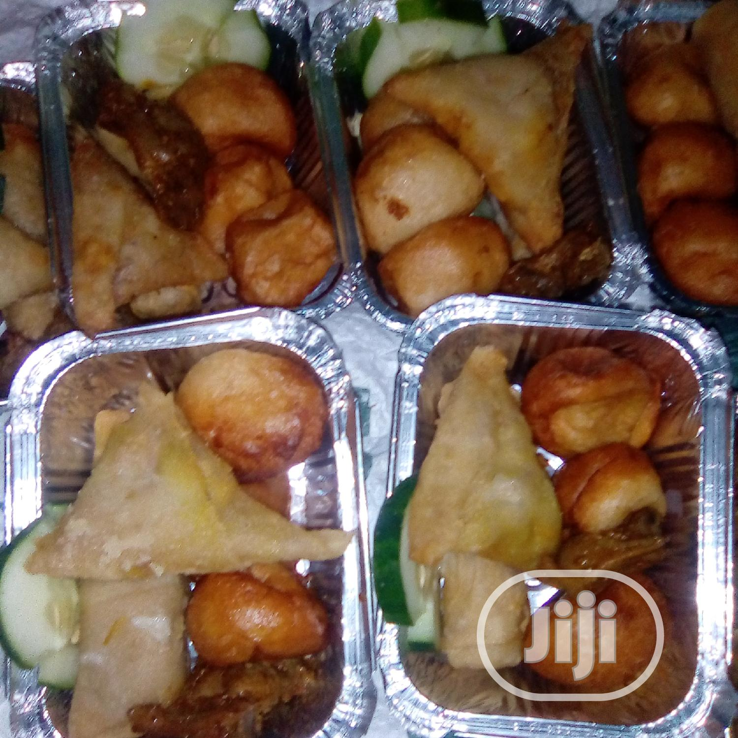 Amazing Freshly Made Small Chops