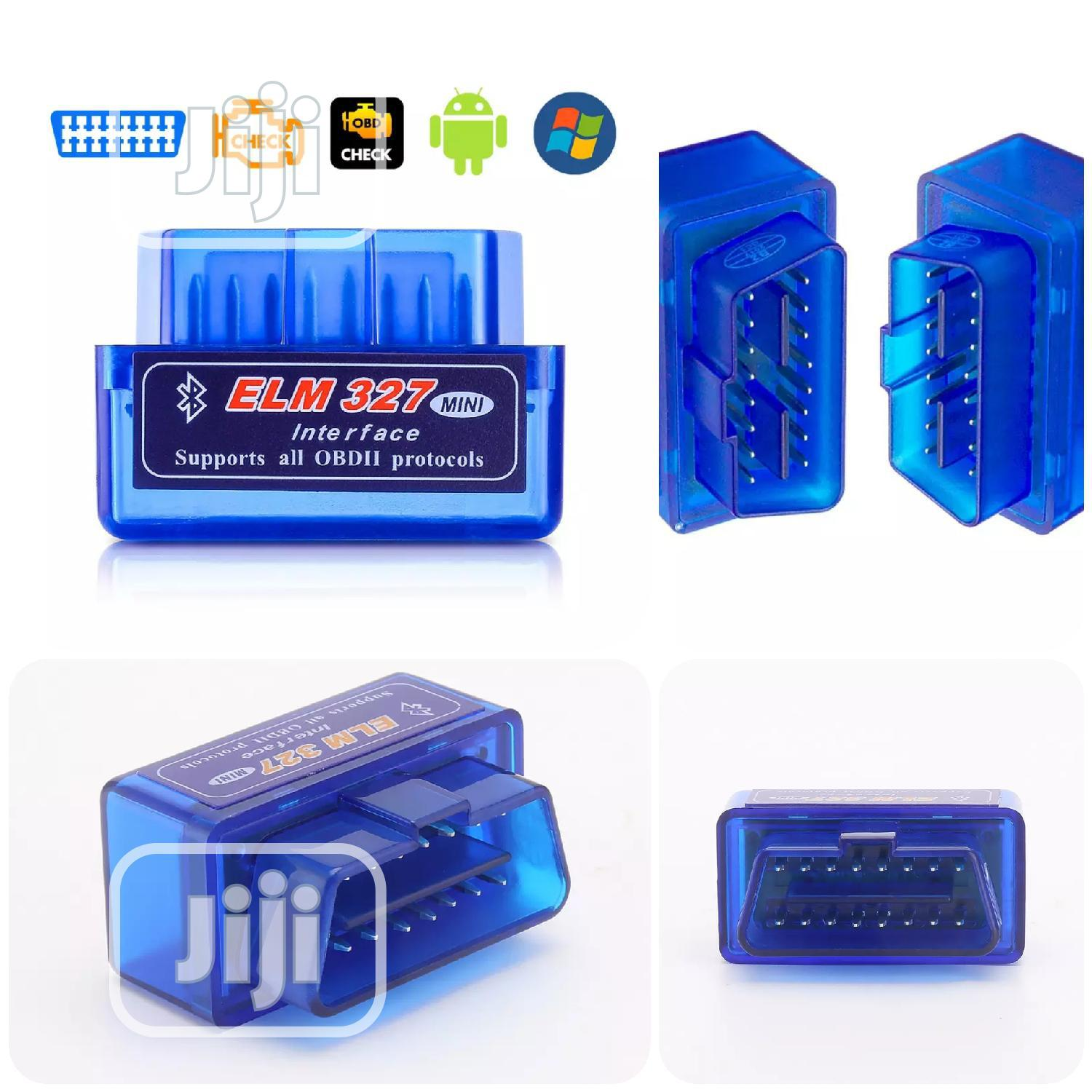 Obd2 ELM327 Bluetooth Car Diagnostic Scanner Tool -al | Vehicle Parts & Accessories for sale in Ikeja, Lagos State, Nigeria