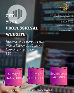 Professional Website Design   Computer & IT Services for sale in Lagos State, Ikotun/Igando
