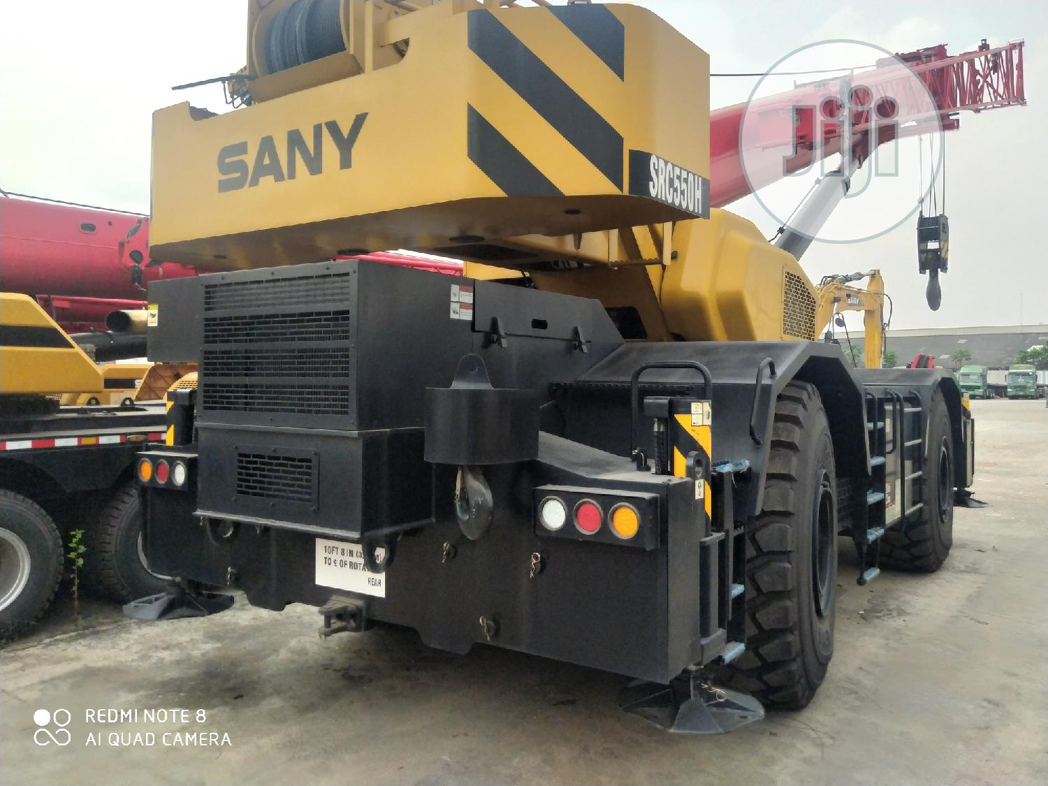 New Arrival Brand New SANY Mobile Crane Machines Forsale