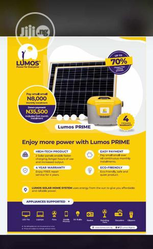 Lumos Prime, Eco And MTN Lumos Yello Box For Your Home. | Solar Energy for sale in Lagos State, Ikorodu