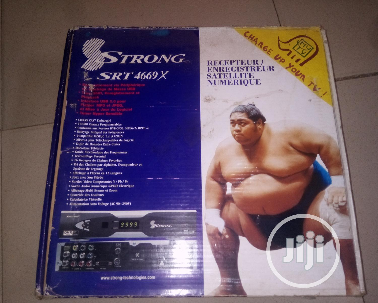 Strong Srt4669x Decoder | TV & DVD Equipment for sale in Oluyole, Oyo State, Nigeria