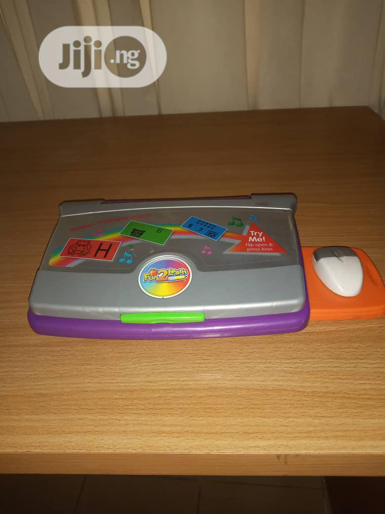 Archive: Fisher-Price Fun to Learn Color Flash Laptop