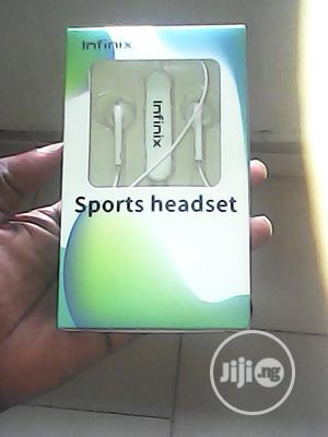 Infinix Bluetooth Headset Ear Piece | Headphones for sale in Lagos State, Surulere