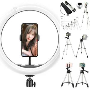 """10"""" Ring Light Plus Hotpro Tripod Stand 
