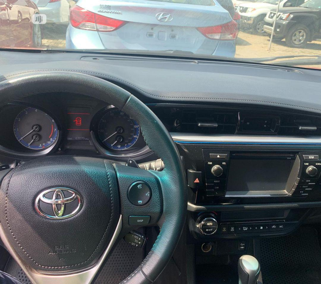 Toyota Corolla 2014 Red   Cars for sale in Alimosho, Lagos State, Nigeria