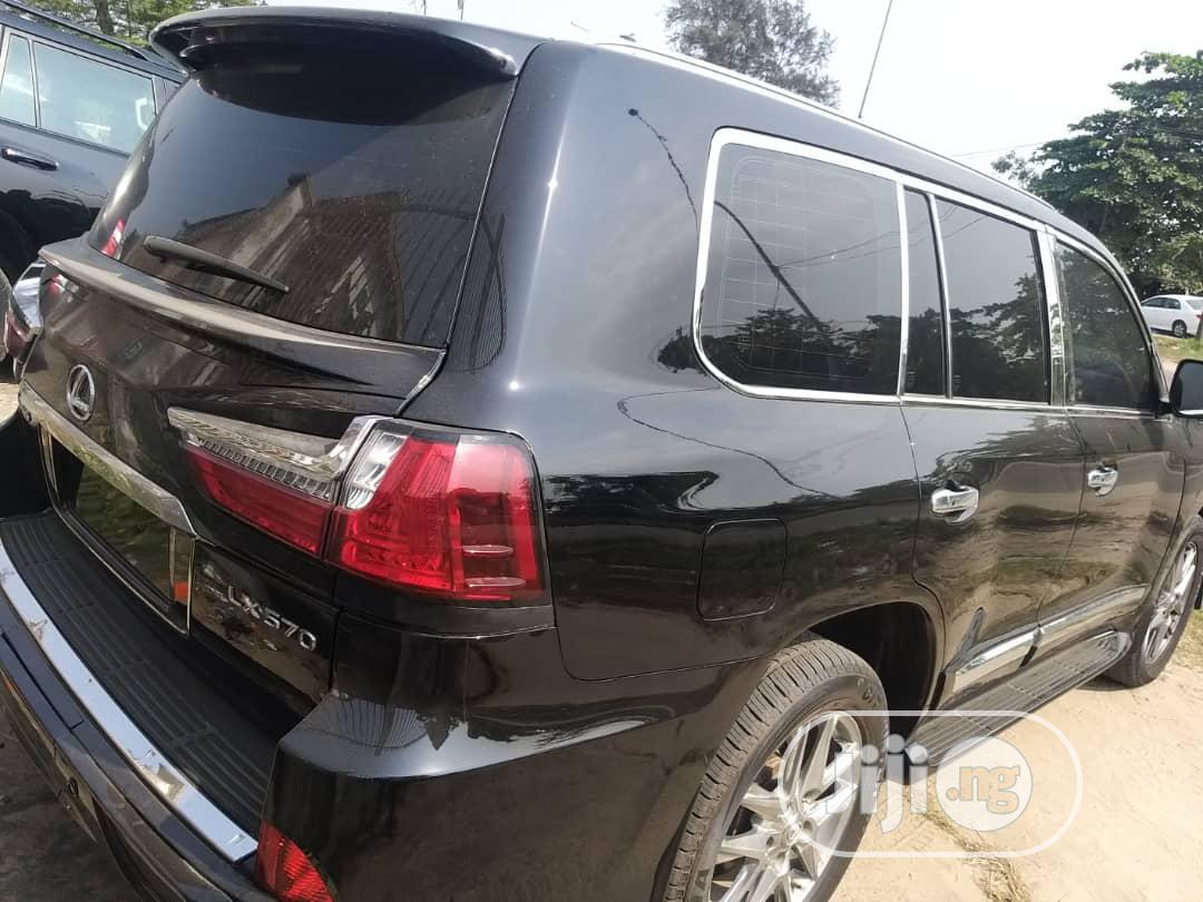 Lexus LX 2010 570 Black | Cars for sale in Amuwo-Odofin, Lagos State, Nigeria